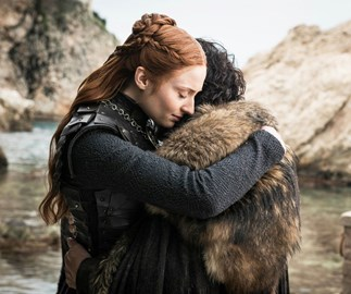 Sansa and Jon in 'Game of Thrones.'