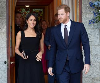 Meghan Markle and Prince Harry.
