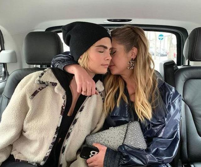 Cara Delevingne and Ashley Benson.
