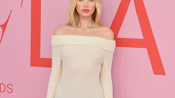 Elsa Hosk at the 2019 CFDA Fashion Awards.