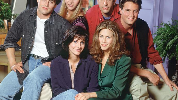 Watching Friends Eases Anxiety