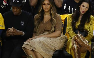 Beyoncé's Reaction To This Woman Talking To Jay-Z Has Sparked So Many Memes