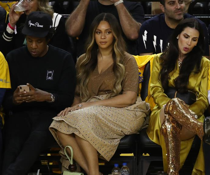 Beyoncé Jay-Z Nicole Curran NBA