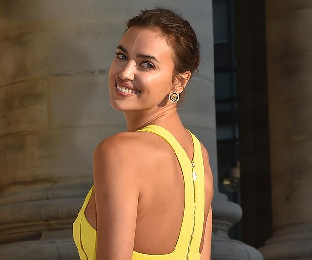 irina-shayk-yellow-dress