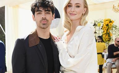 A Moment Of Silence For Sophie Turner's To-Die-For Wedding Band, Please