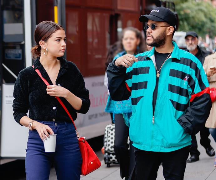 Selena Gomez The Weeknd.