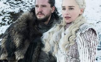 Game Of Thrones' Jon Snow and Daenerys Targaryen.