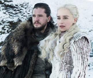 Game Of Thrones' Jon Snow and Daenerys Targaryen.