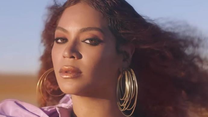 "Beyoncé in The Lion King ""Spirit"" music video."
