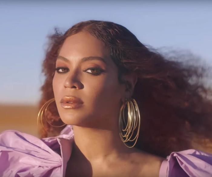 "Beyoncé in The Lion King ""Spirit"" music video."