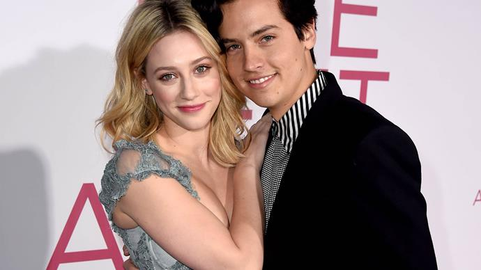 Riverdale stars Lili Reinhart and Cole Sprouse.
