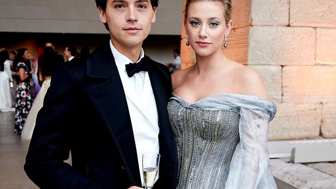 Lili Reinhart and Cole Sprouse.