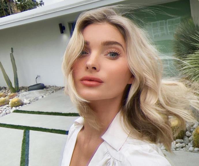 Elsa Hosk hair.
