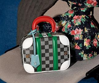 Meet This Season's 'It'-Bag: Louis Vuitton's BB Mini Luggage Bag