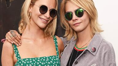 Inside Cara And Poppy Delevingne's Incredible Jungle-Themed L.A. Home