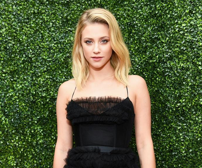 Lili Reinhart at the 2019 Golden Globes.