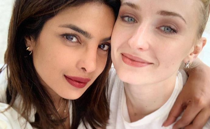 Priyanka Chopra and Sophie Turner.