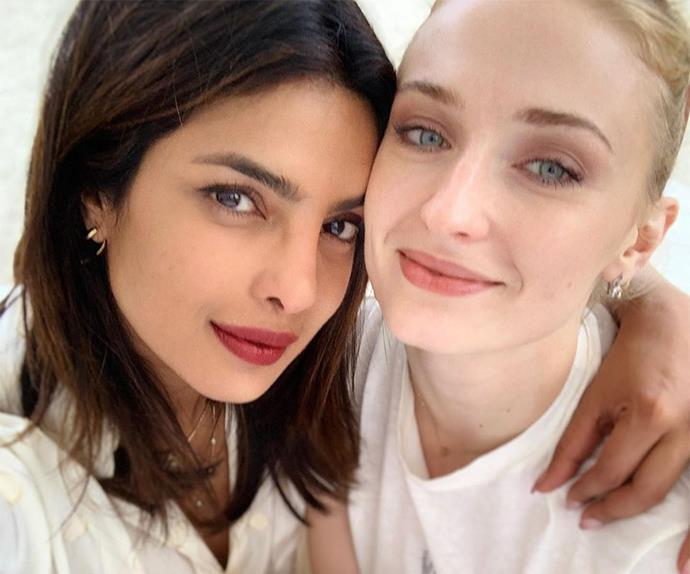 Priyanka Chopra and Sophie Turner.