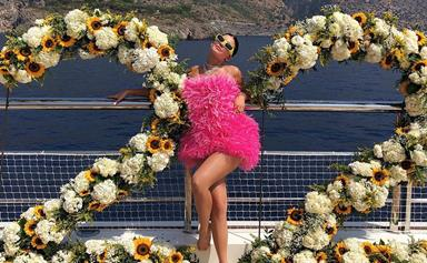 Every Photo From Inside Kylie Jenner's Very Extra 22nd Birthday Party In Positano