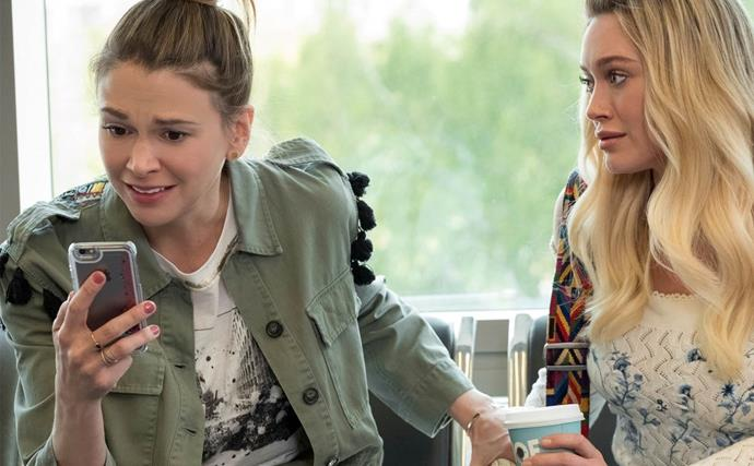 Liza and Kelsey from Younger.