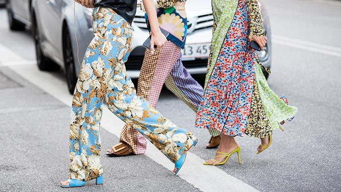Zara shoes street style at Copenhagen Fashion Week.