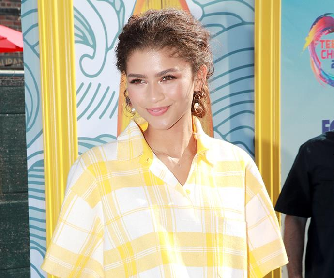 Zendaya attends the 2019 Teen Choice Awards.