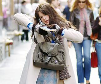 Andy Sachs played by Anne Hathaway in The Devil Wears Prada.