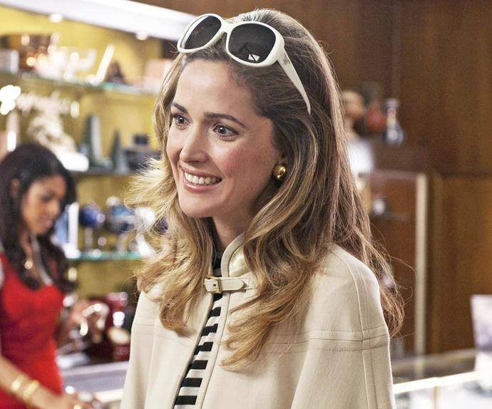 Rose Byrne in Bridesmaids.