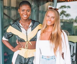 Vakoo and Rachael from 'The Bachelor' Australia.