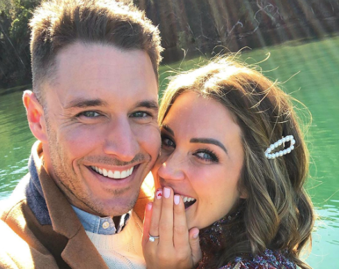 'The Bachelorette' Couple Georgia Love And Lee Elliott Are Engaged