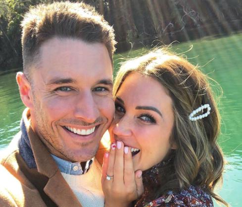 'The Bachelorette' Couple Georgia Love And Lee Elliott Are Engaged