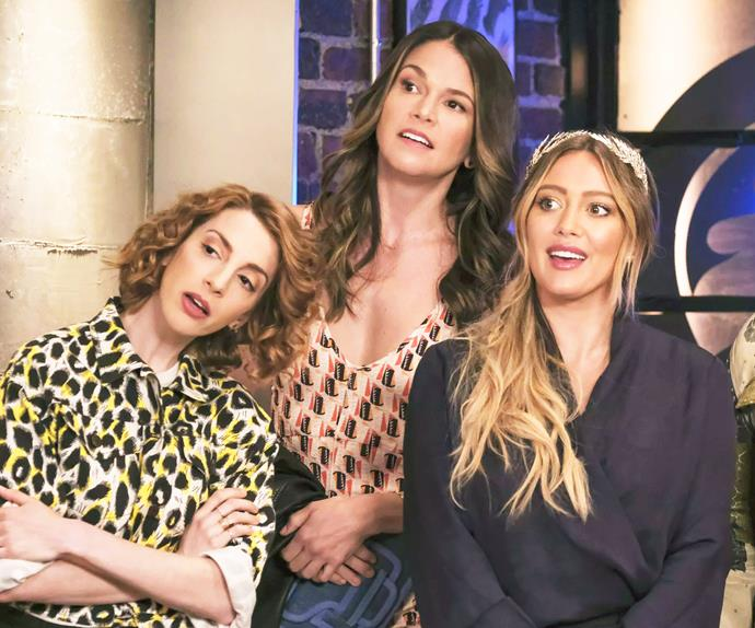 Lauren, Liza and Kelsey from 'Younger'.