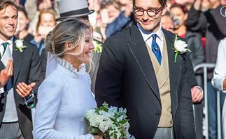 Ellie Goulding's Bridesmaids Dresses Were So Elegant