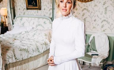 Ellie Goulding's Second Wedding Dress Was Just As Stunning As Her First