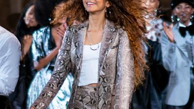 The 14 Best Moments From Zendaya's Tommy Hilfiger Show At New York Fashion Week
