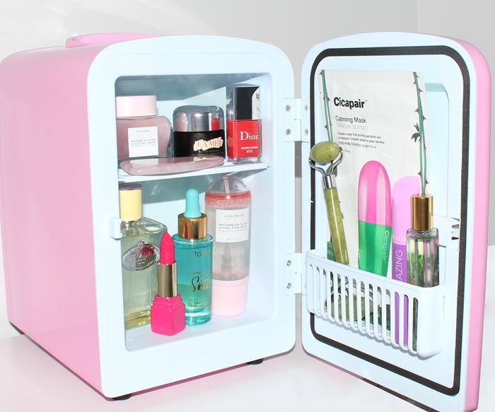 beauty fridge skincare products