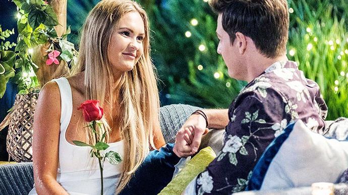 Chelsie and Matt from The Bachelor Australia.