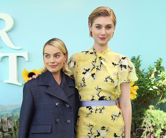 Elizabeth Debicki and Margot Robbie.