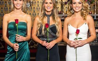 Bachelor Australia top three Abbie Chatfield, Helena Sauzier and Chelsie McLeod.