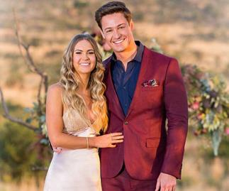 Chelsie and Matt from 'The Bachelor' Australia 2019.