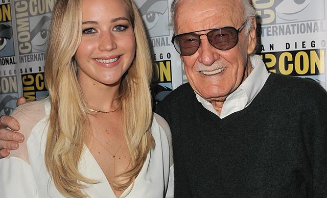 jennifer lawrence stan lee