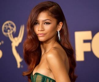 Zendaya Stuns In Emerald Green On The 2019 Emmys Red Carpet