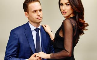 Patrick J. Adams and Meghan Markle in 'Suits'.