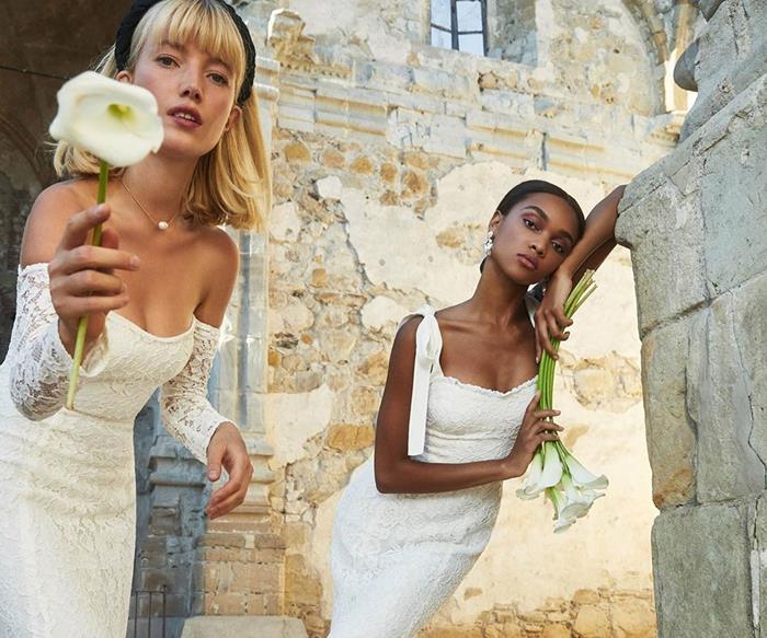 Reformation wedding dresses.