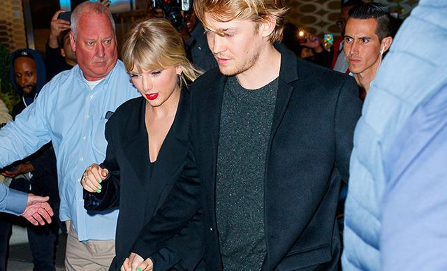 Taylor Swift And Joe Alwyn Have A Rare Moment Of PDA