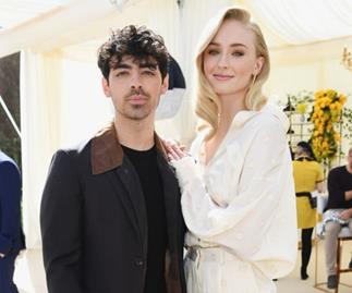 Sophie Turner and Joe Jonas.