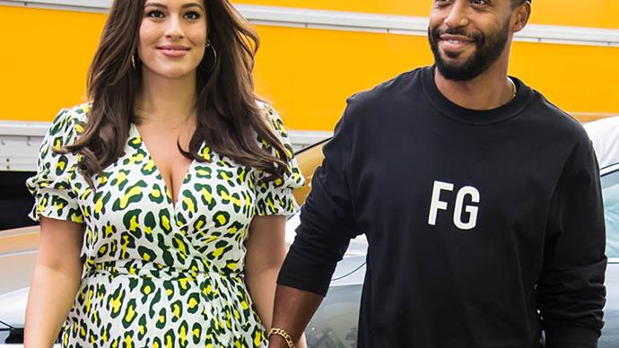 Ashley Graham and Justin Ervin.