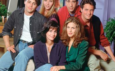 Jennifer Aniston Says The 'Friends' Cast Is 'Working On Something' Together