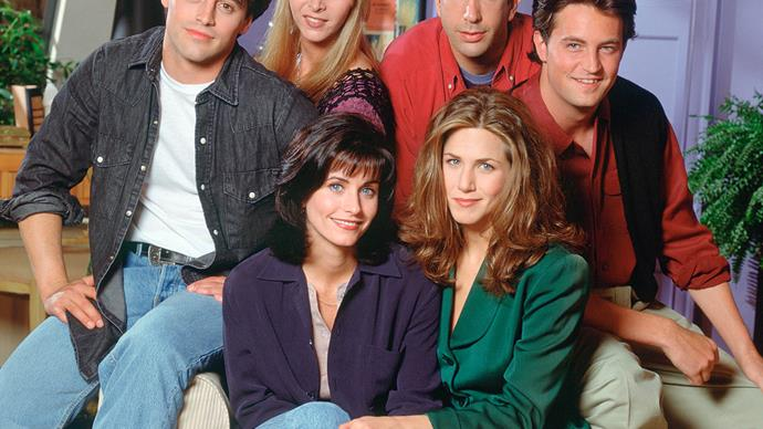 The cast of 'Friends'.
