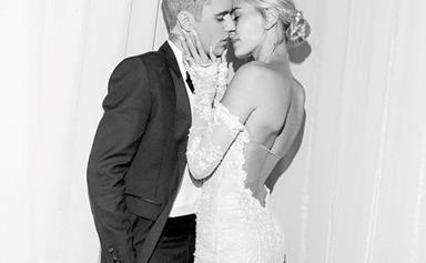 42 Famous Models And Their Wedding Gowns